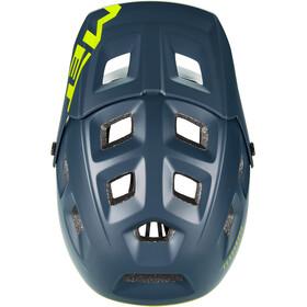 MET Terranova MIPS Helm blue/lime green matte
